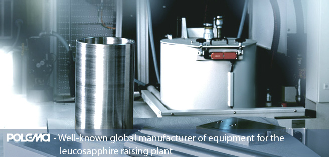 Well-known global manufacturer of equipment for the leucosapphire raising plant